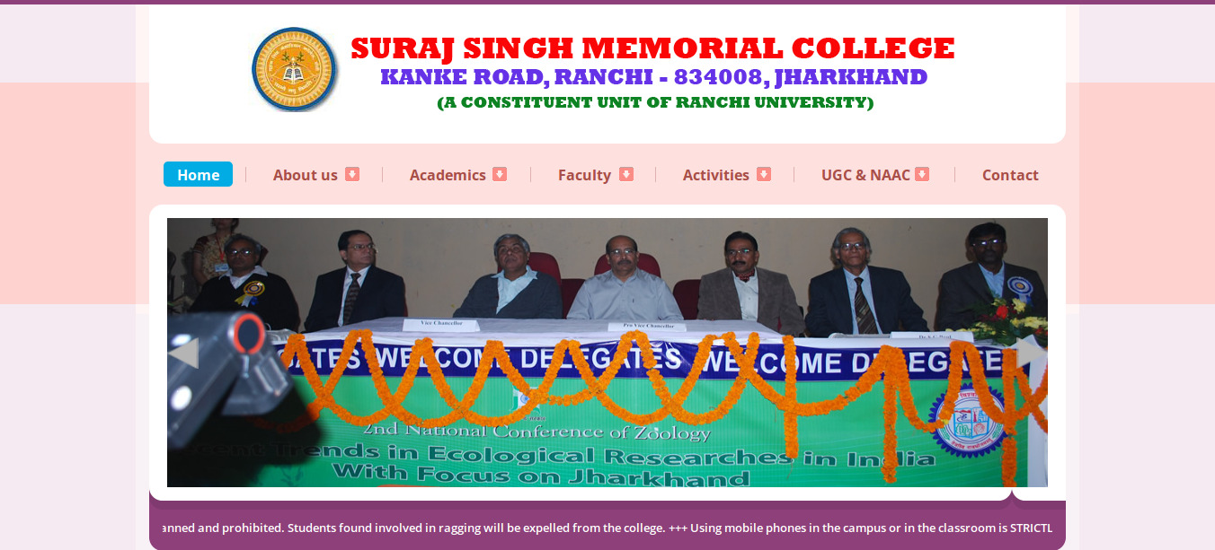 Suraj Singh Memorial College Ranchi